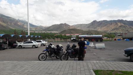 Waiting at the border