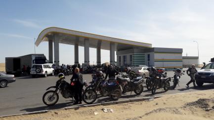 Desert Petrol Station