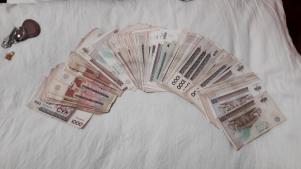 Having lots of Money
